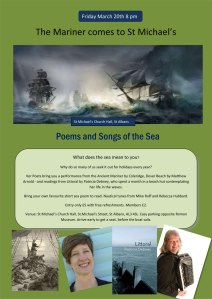 Ver Poets: Sea Poetry Flyer